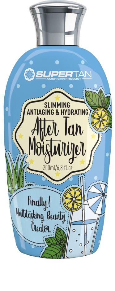 After tan lotion to hydrate your skin and keep it healthy