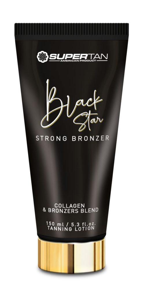 Black star supertan bronzer elebration line