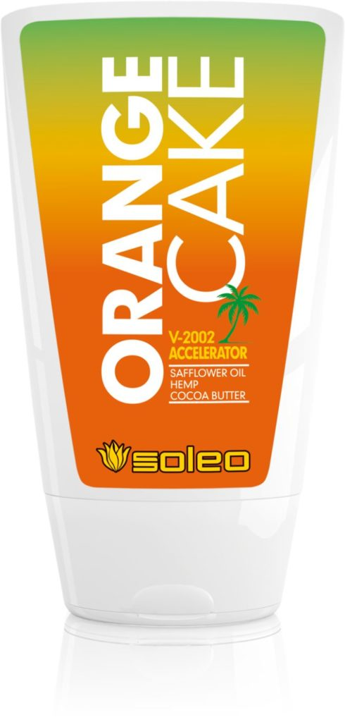Accelerator tanning lotion for skin type I, safer tanning is guaranteed